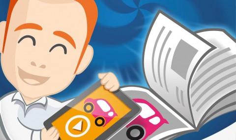 Augmented Reality – Magazine drucken mit Mehrwert