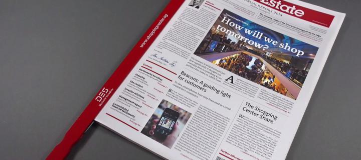 Der Geschäftsbericht als Tageszeitung