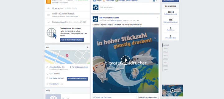 Unsere Facebook Business-Story