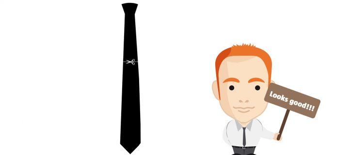 Krawatte zum selbst ausdrucken