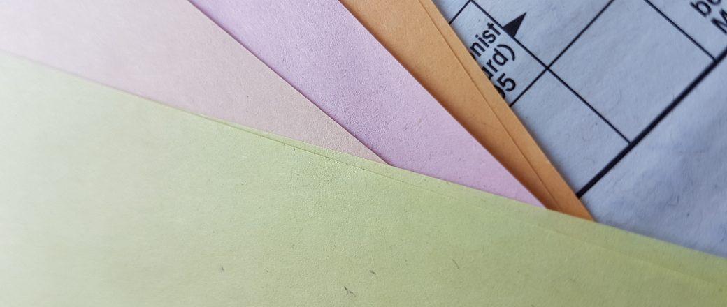 Farbiges Zeitungspapier – wir machen es möglich!
