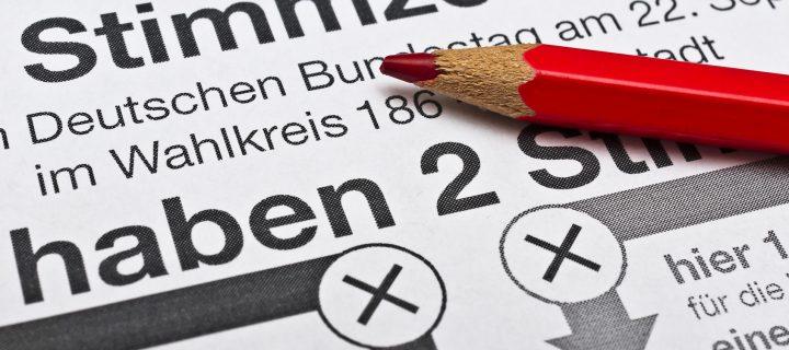 Wahlwerbung im Zeitungsdruck – schnell und kostengünstig