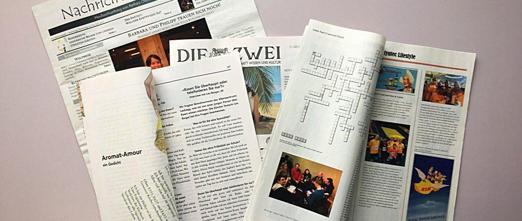 Zeitungsdruck ab Auflage 1