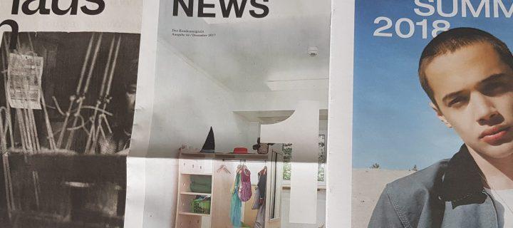 Zeitungen – retro vs. modern