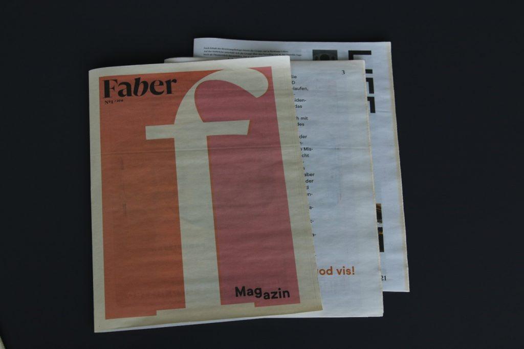Vergilben von Zeitungen