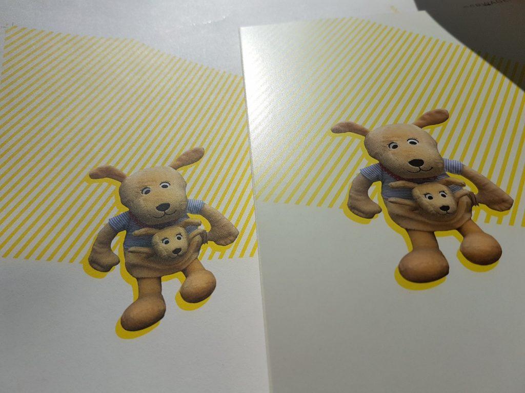 Papiervergleich