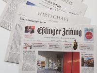 Buchstruktur im Zeitungsdruck