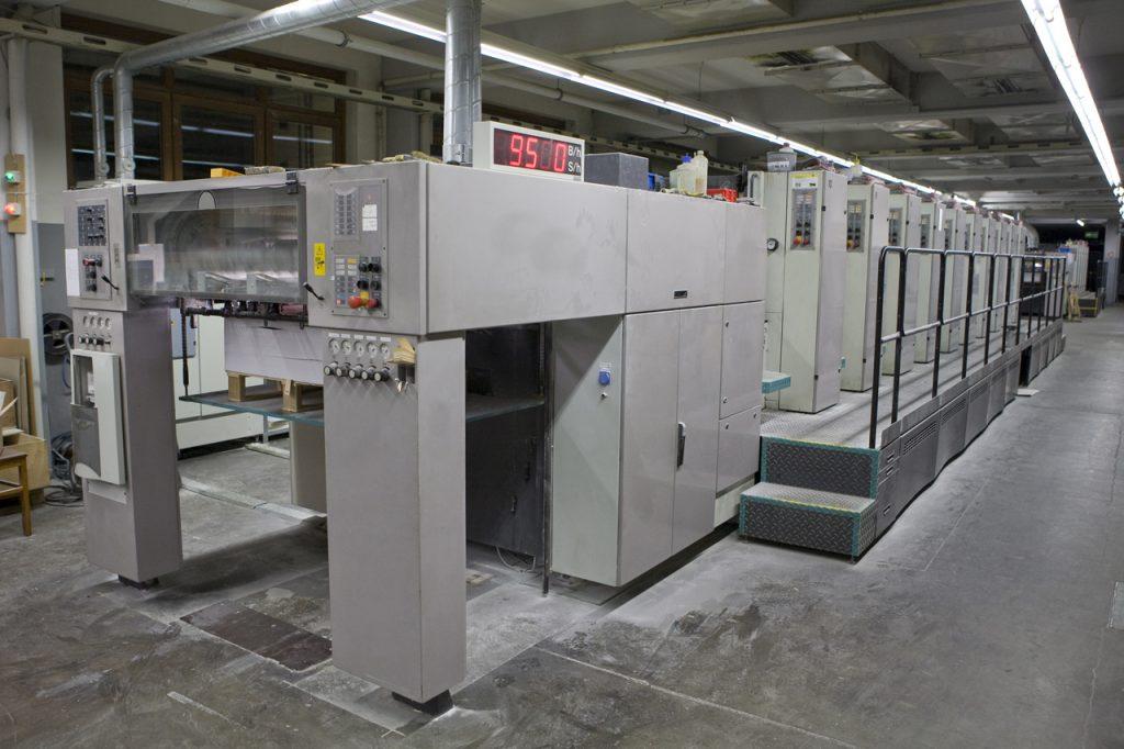 Bogendruckmaschine