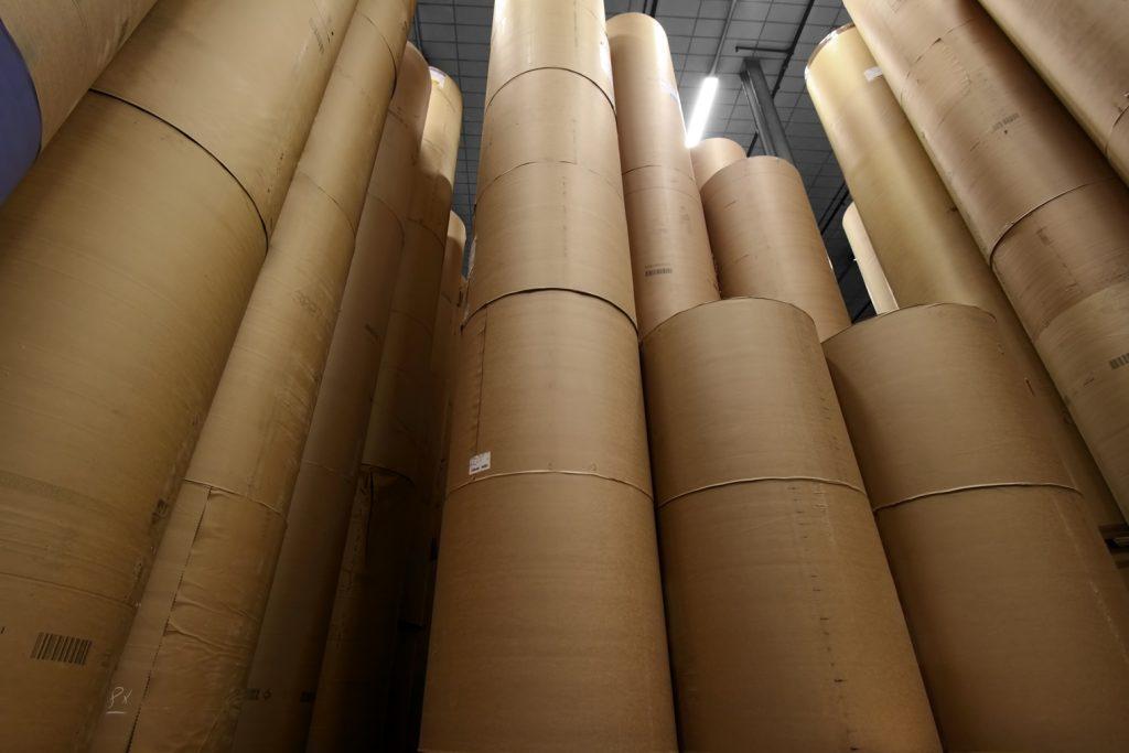 Papierrollen für den Rollenoffsetdruck